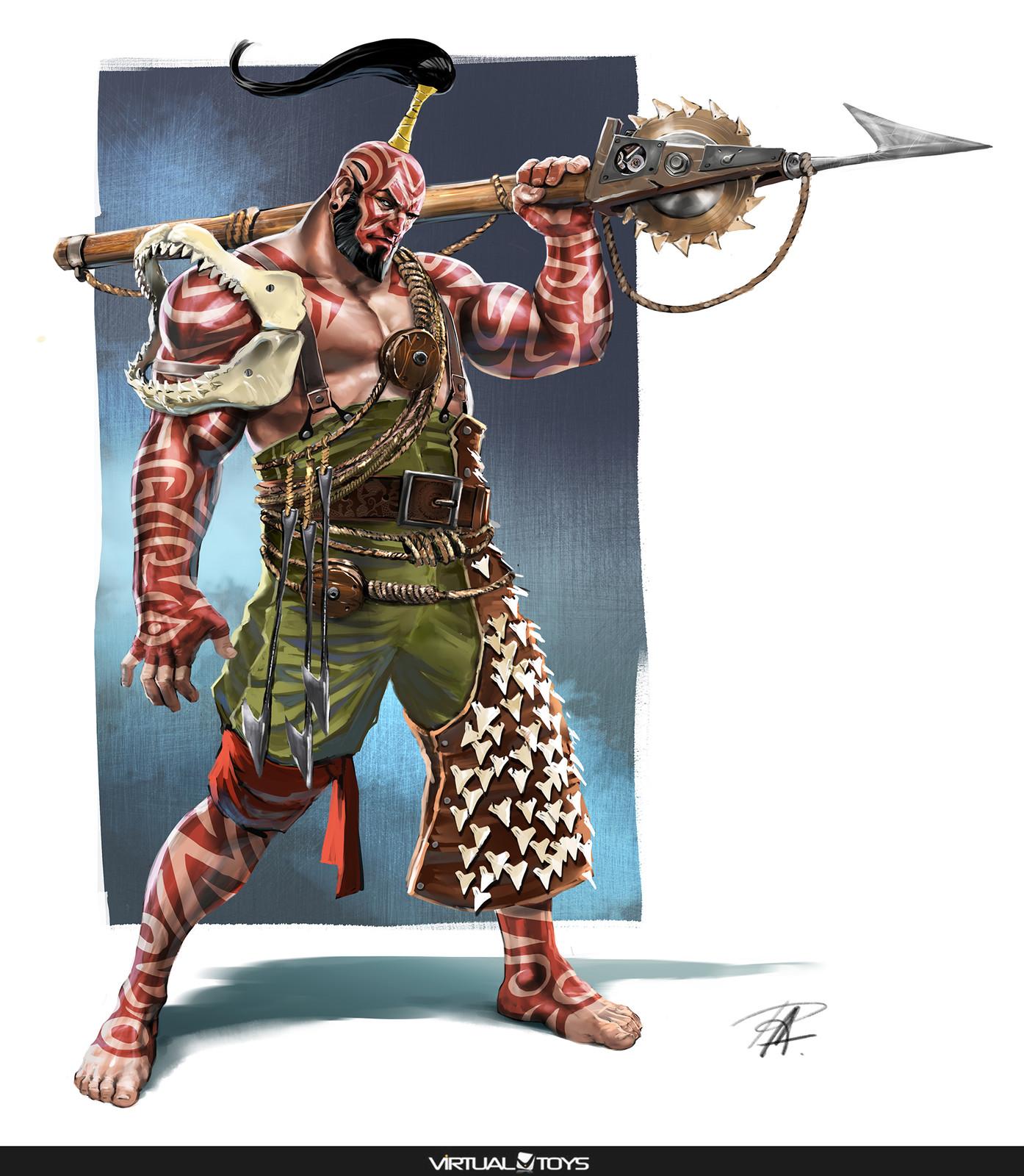 Pirate Treasure Hunters Character Designs