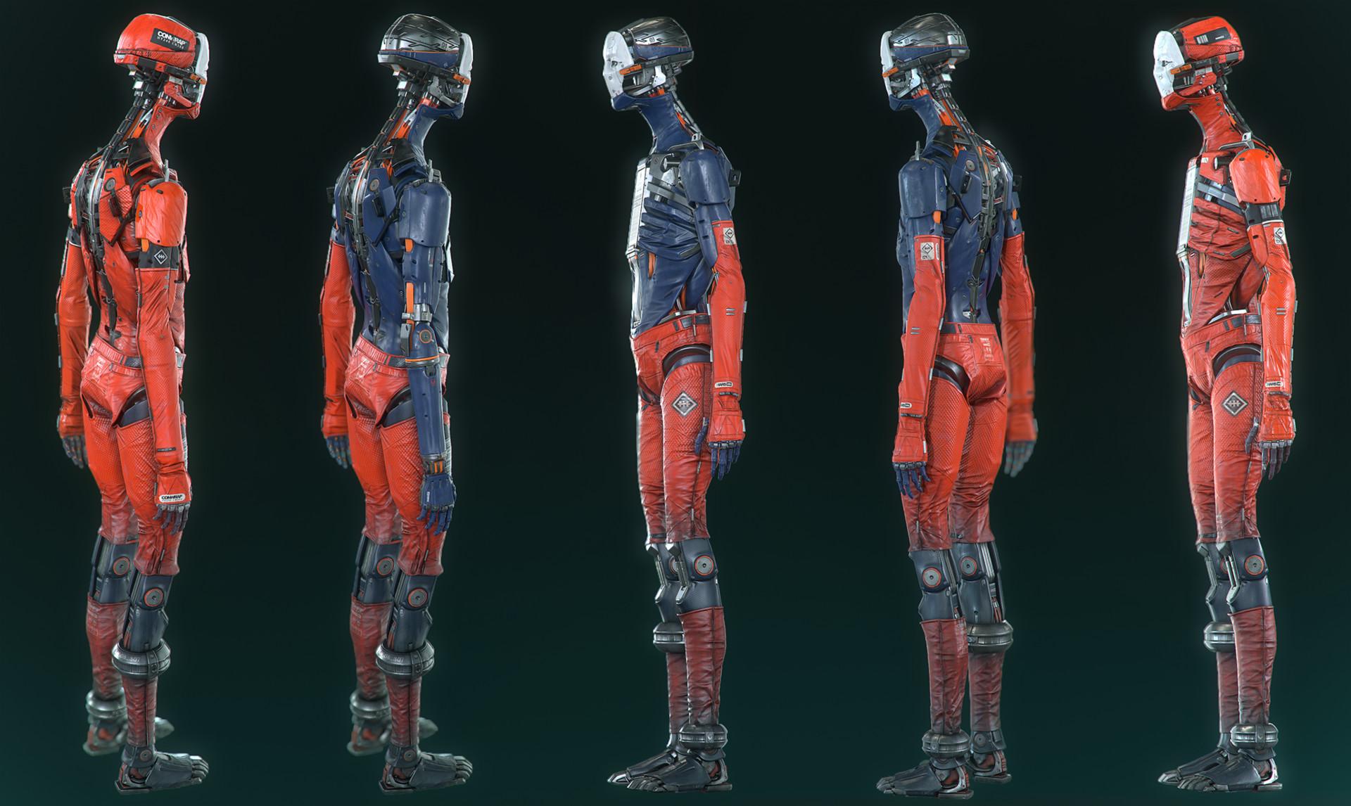 ArtStation - Adam character work , Plamen Tamnev