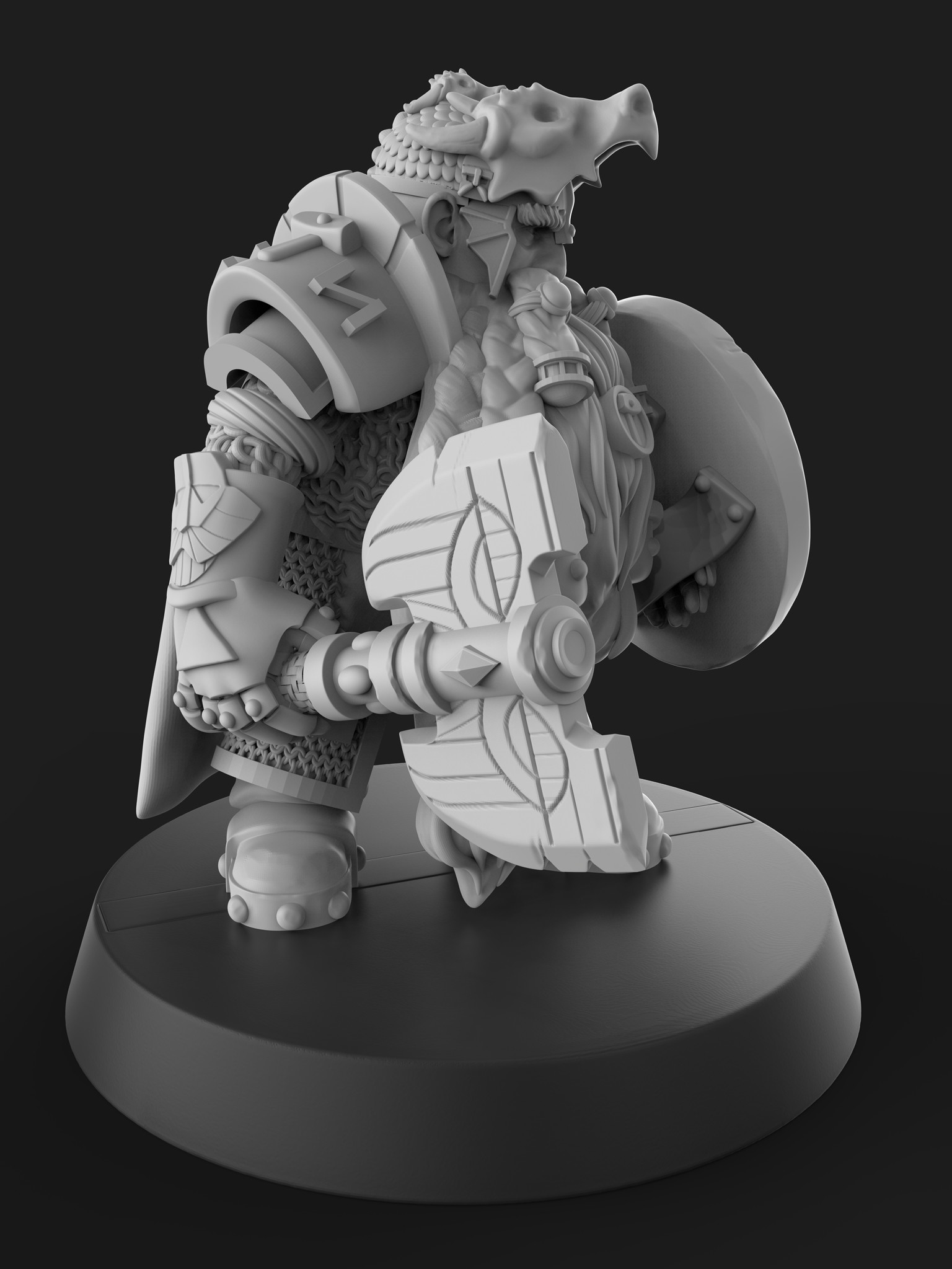 Will higgins dwarf 03 render
