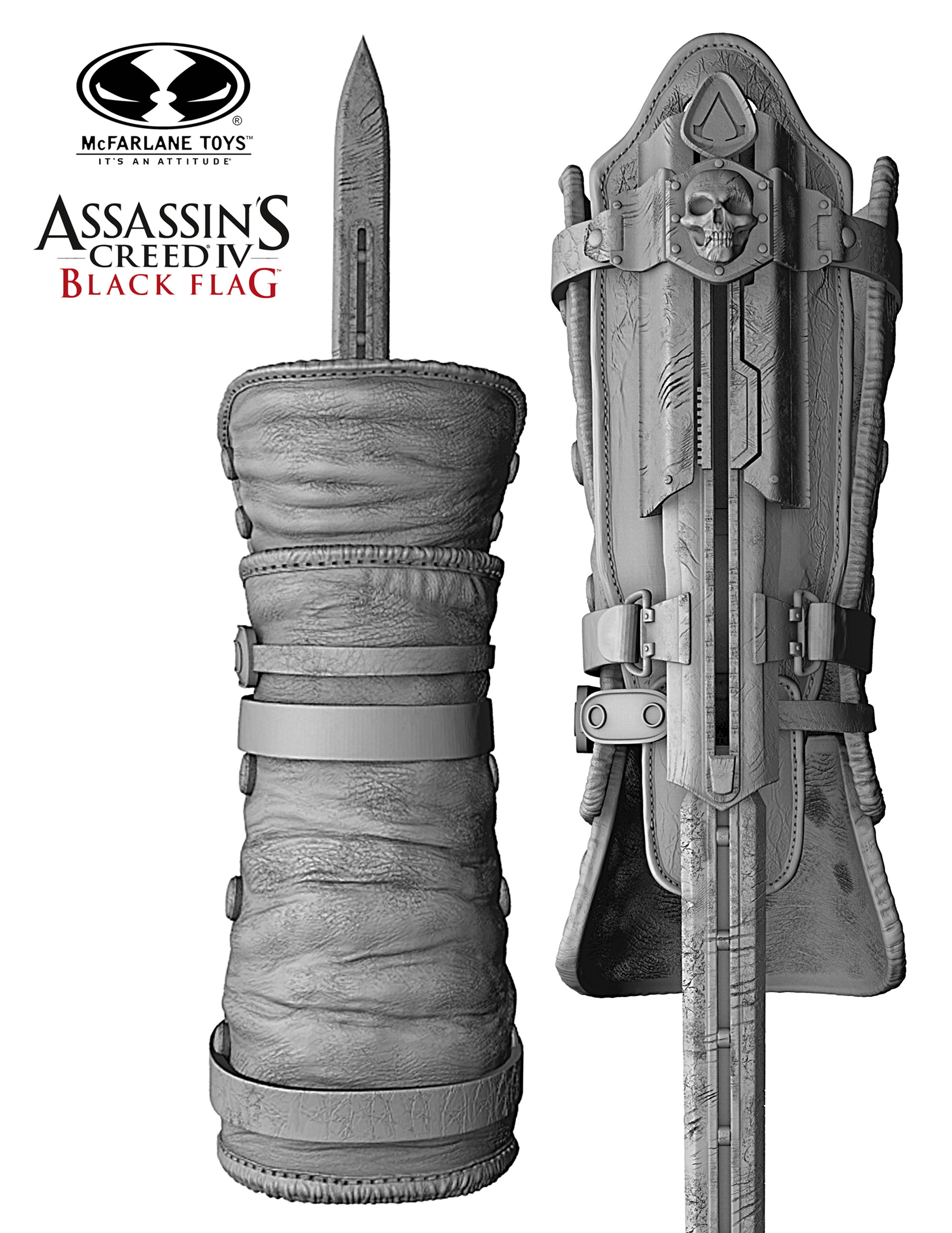 Artstation Mcfarlane Toys Assassin S Creed 1 1 Scale Hidden Blade Mark Ash
