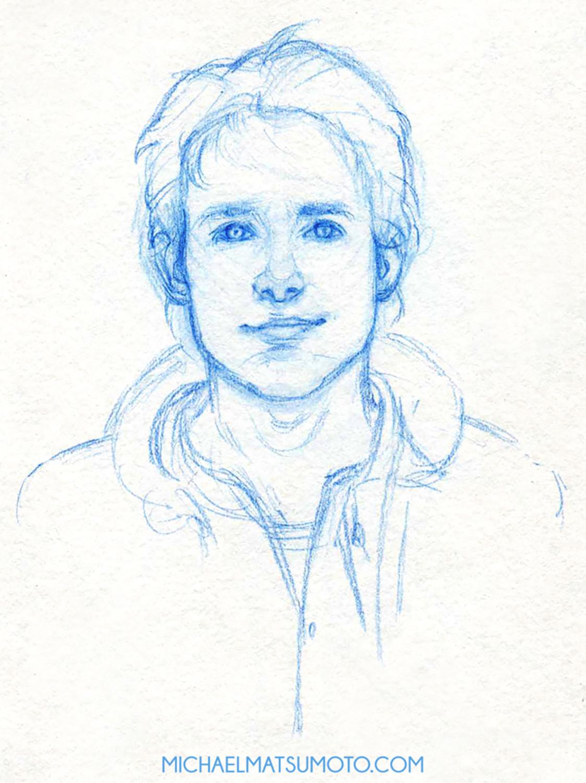 Michael matsumoto w8aminit web portrait sketch