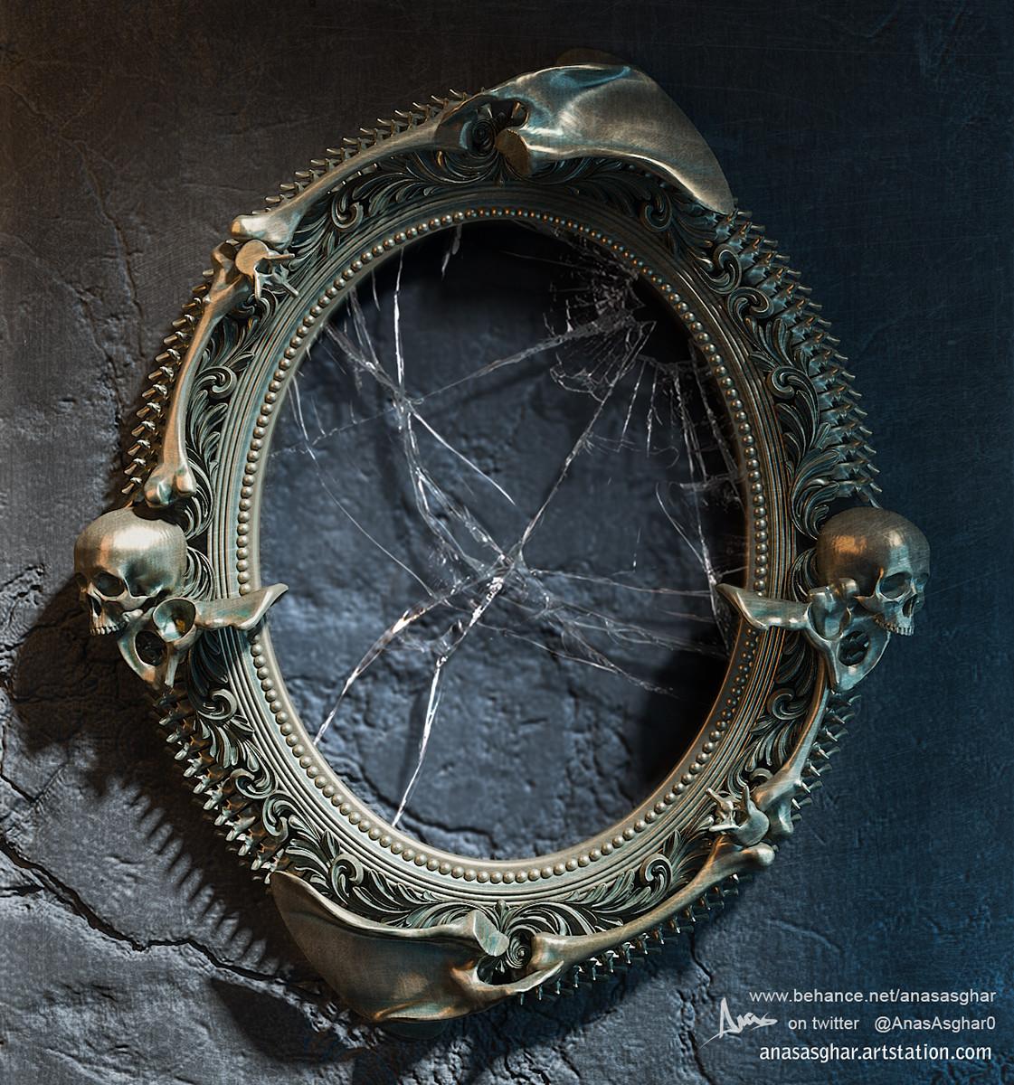 ArtStation - Skull Frame, Anas Asghar
