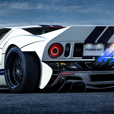 Andre camacho design ford gt