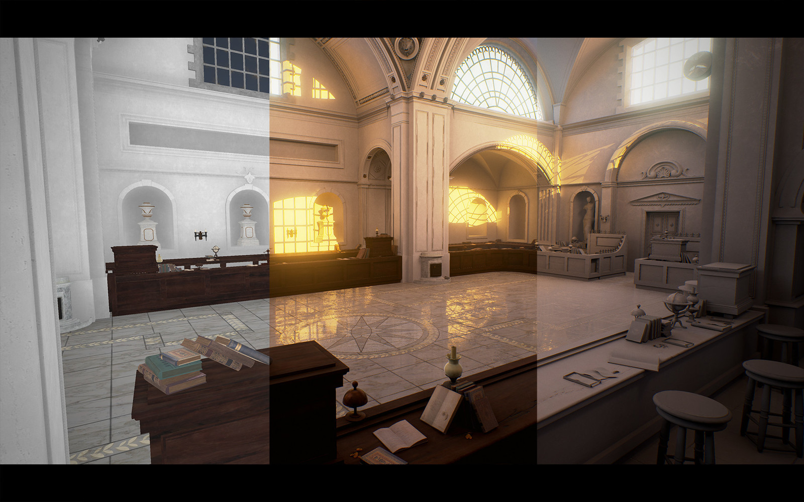 Unreal Engine 4 Breakdown / Room Angle