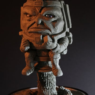 Rob mcdaniel 3dclay modok big 1k
