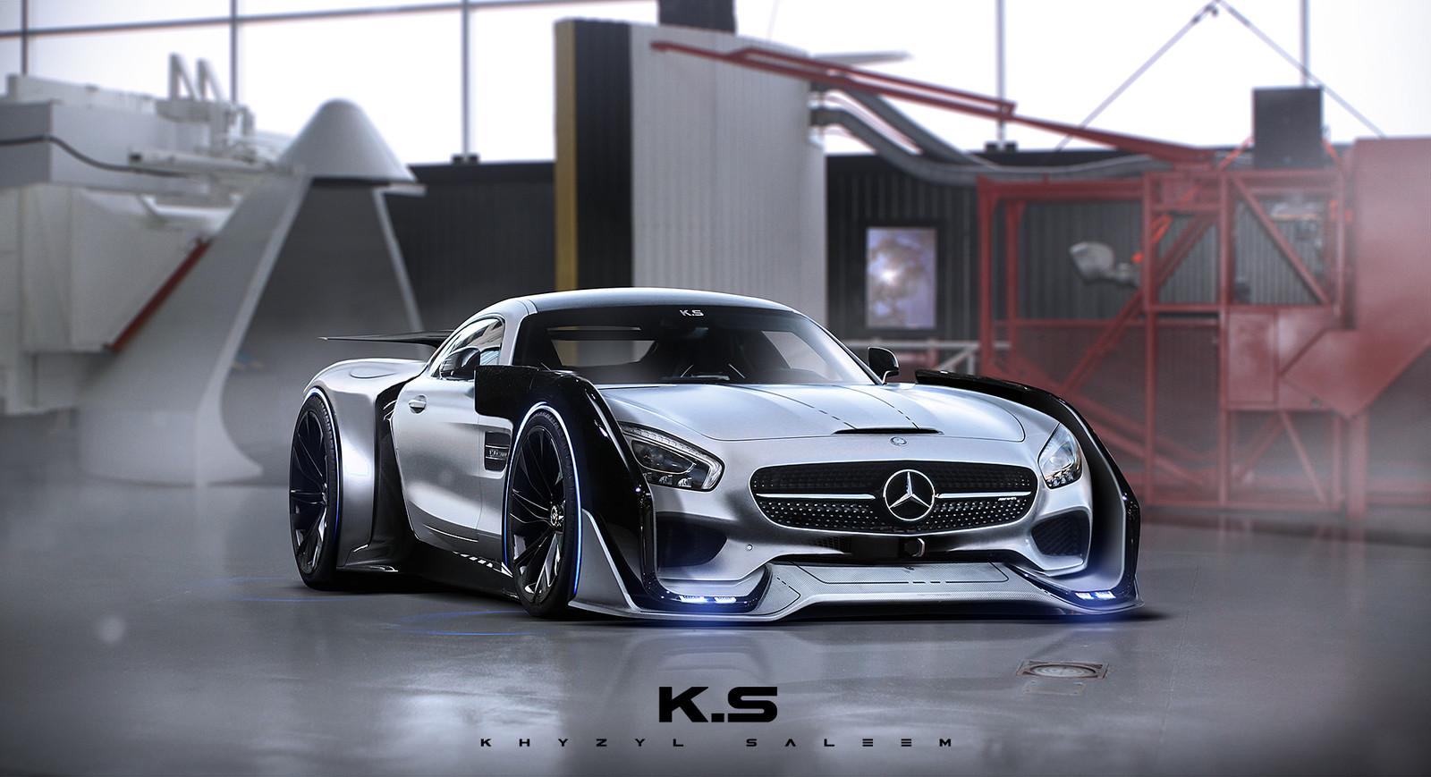 Sci-Fi AMG GT