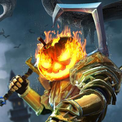 Jose rodriguez pumpkin knight 15