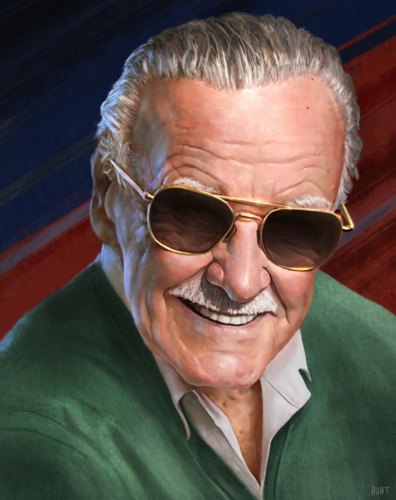 Stan Lee Social Media Profile Picture