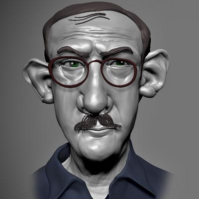 Saul Erik Steinberg , Romanian and American cartoonist and illustrator
