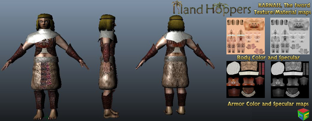 ArtStation - Island Hoppers (Textures and Materials for