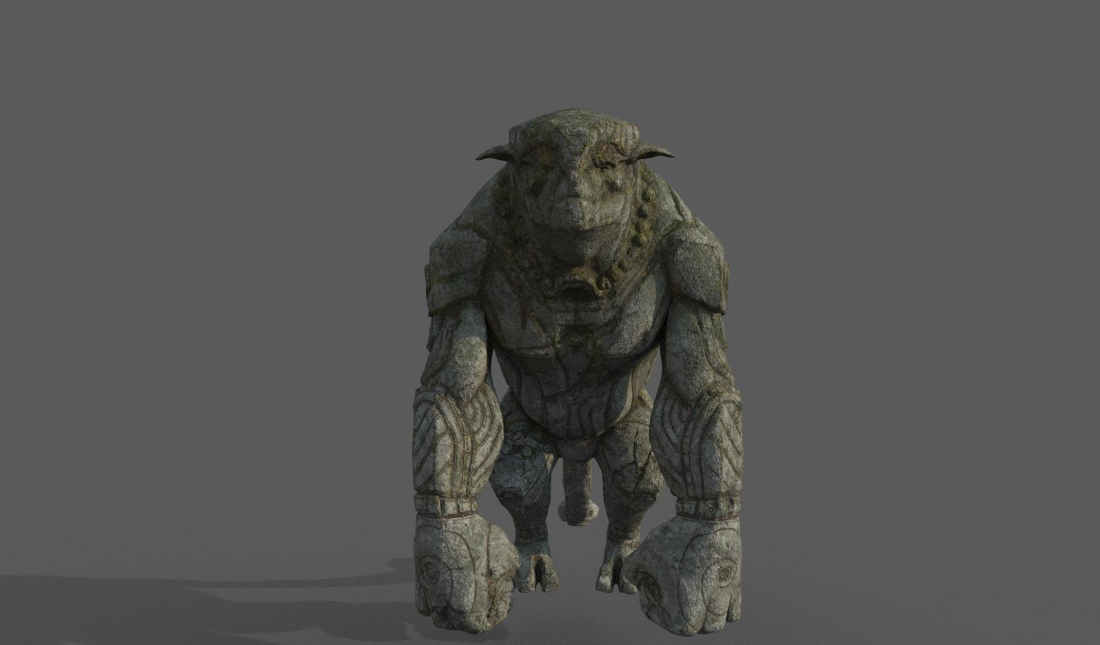 Darko mitev beast statuev1 02