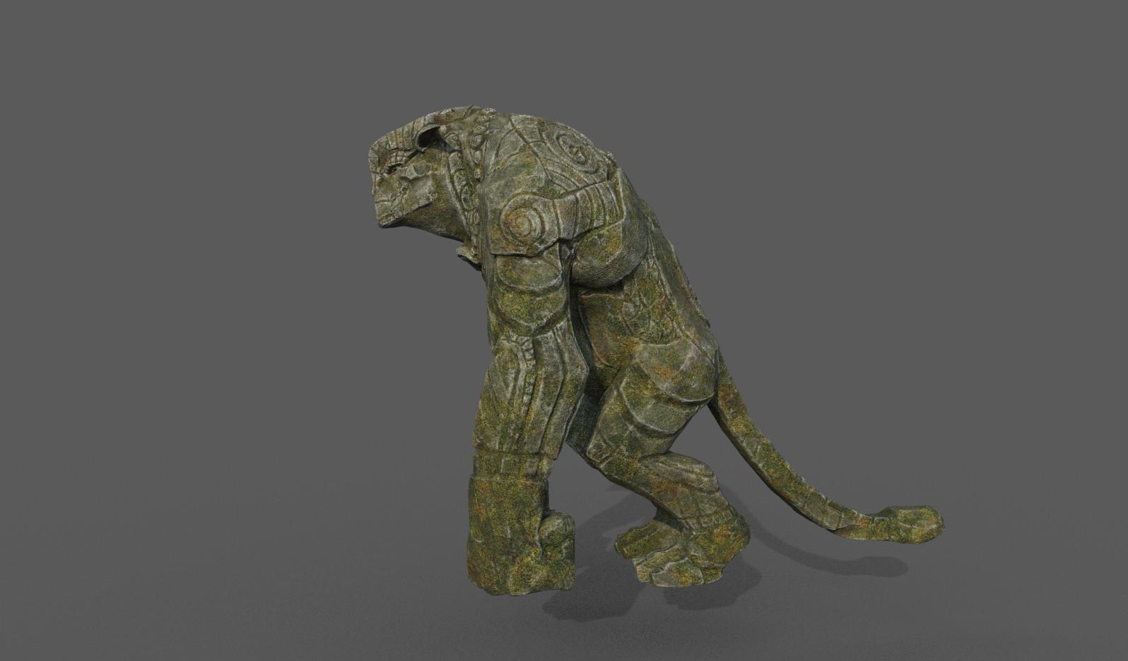 Darko mitev beast statuev2 01