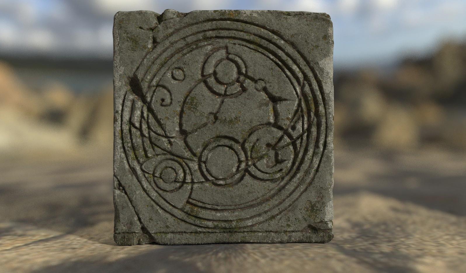 Darko mitev stone door