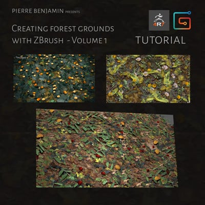 Forest grounds with Nanomesh ZBrush Tutorial - Volume 1