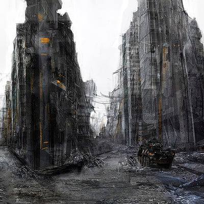 Oleg danylenko ruined city by olegdaniel d6ymplp