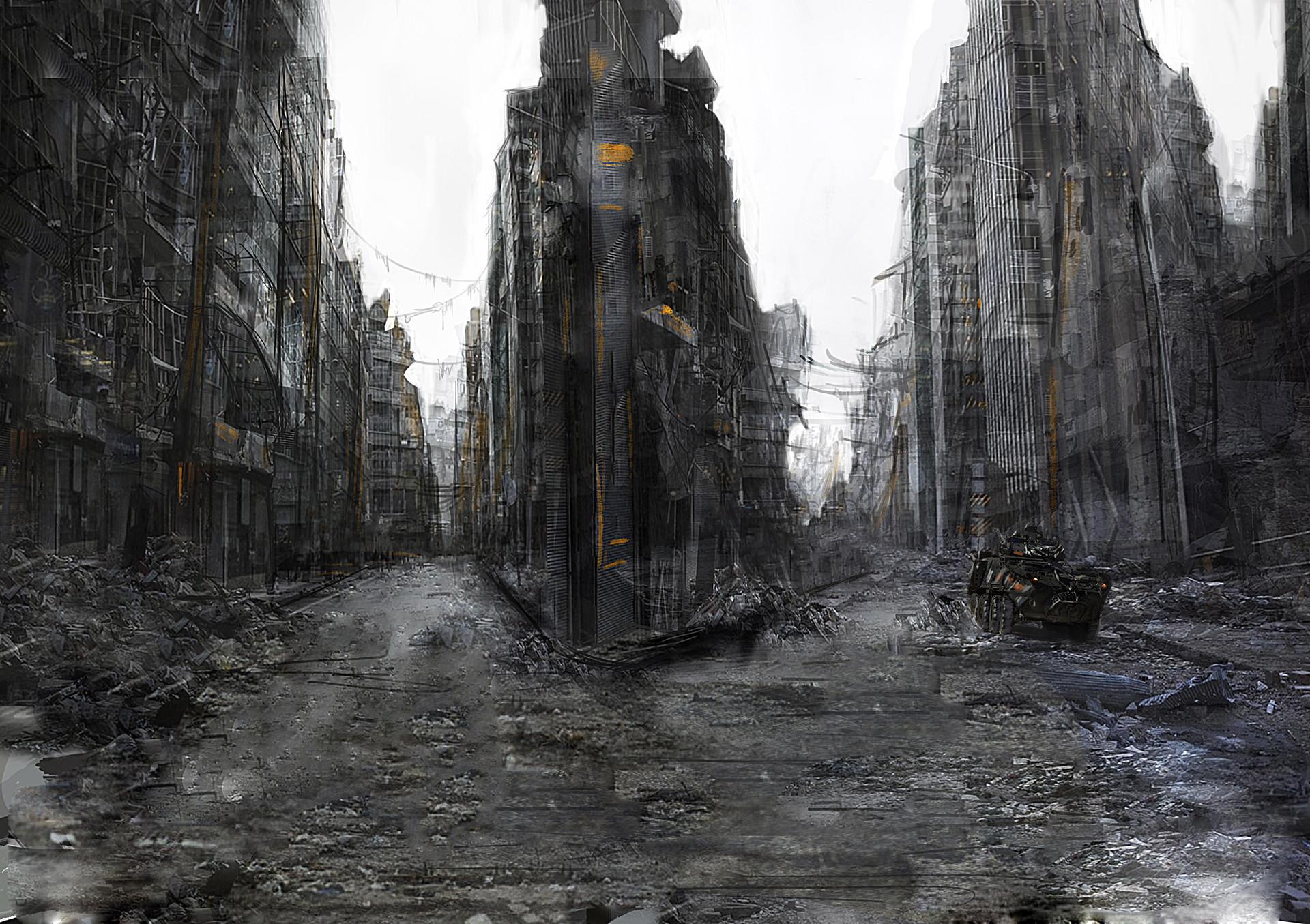 Oleg danylenko ruined city by olegdaniel d6ymplp