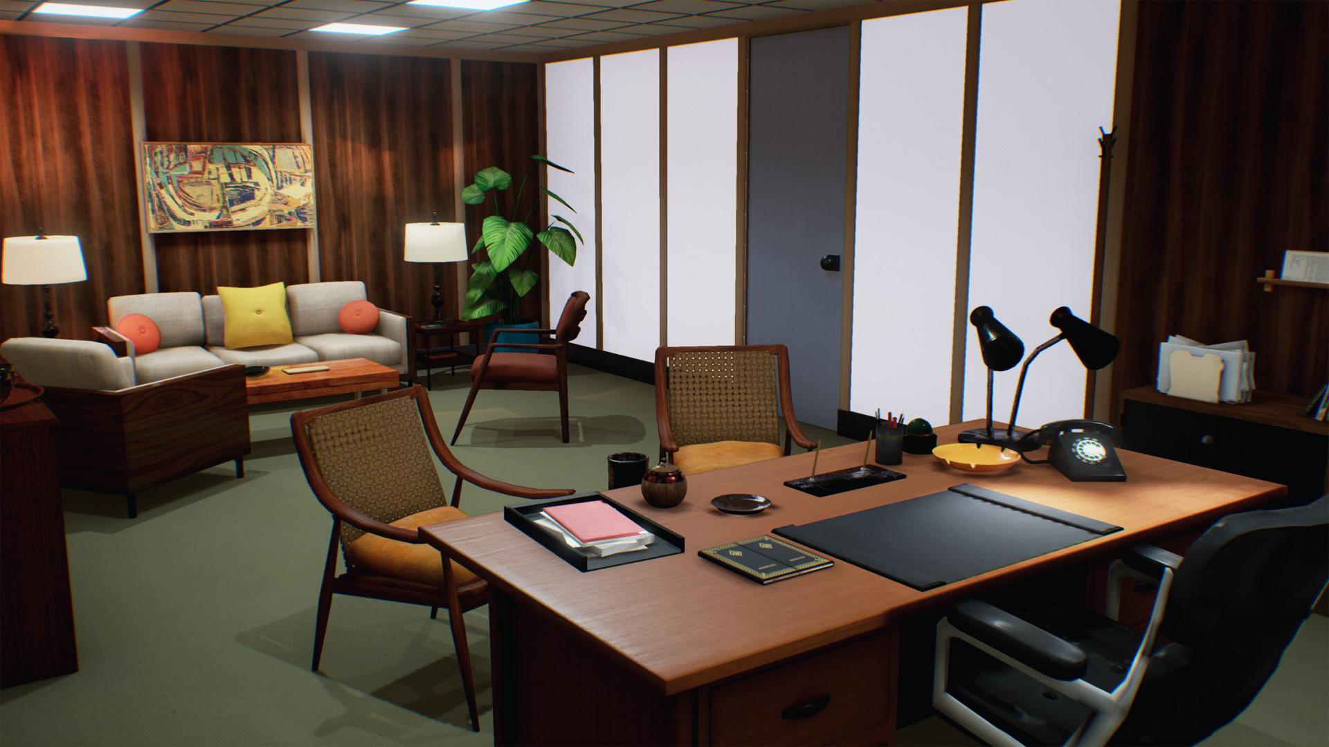 don draper office. Don Draper\u0027s Office Render 1 Draper