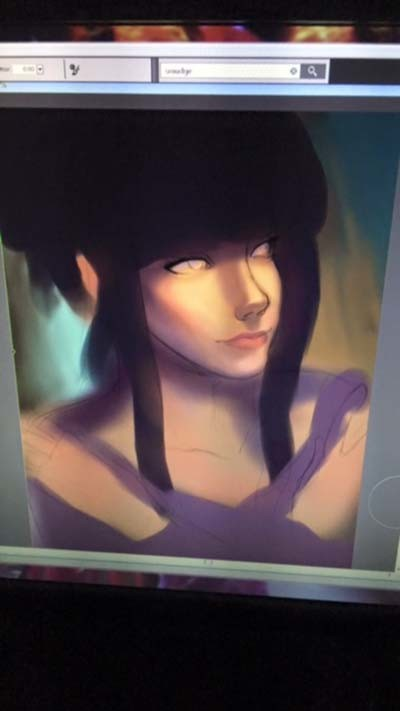 blocking in colors and lighting