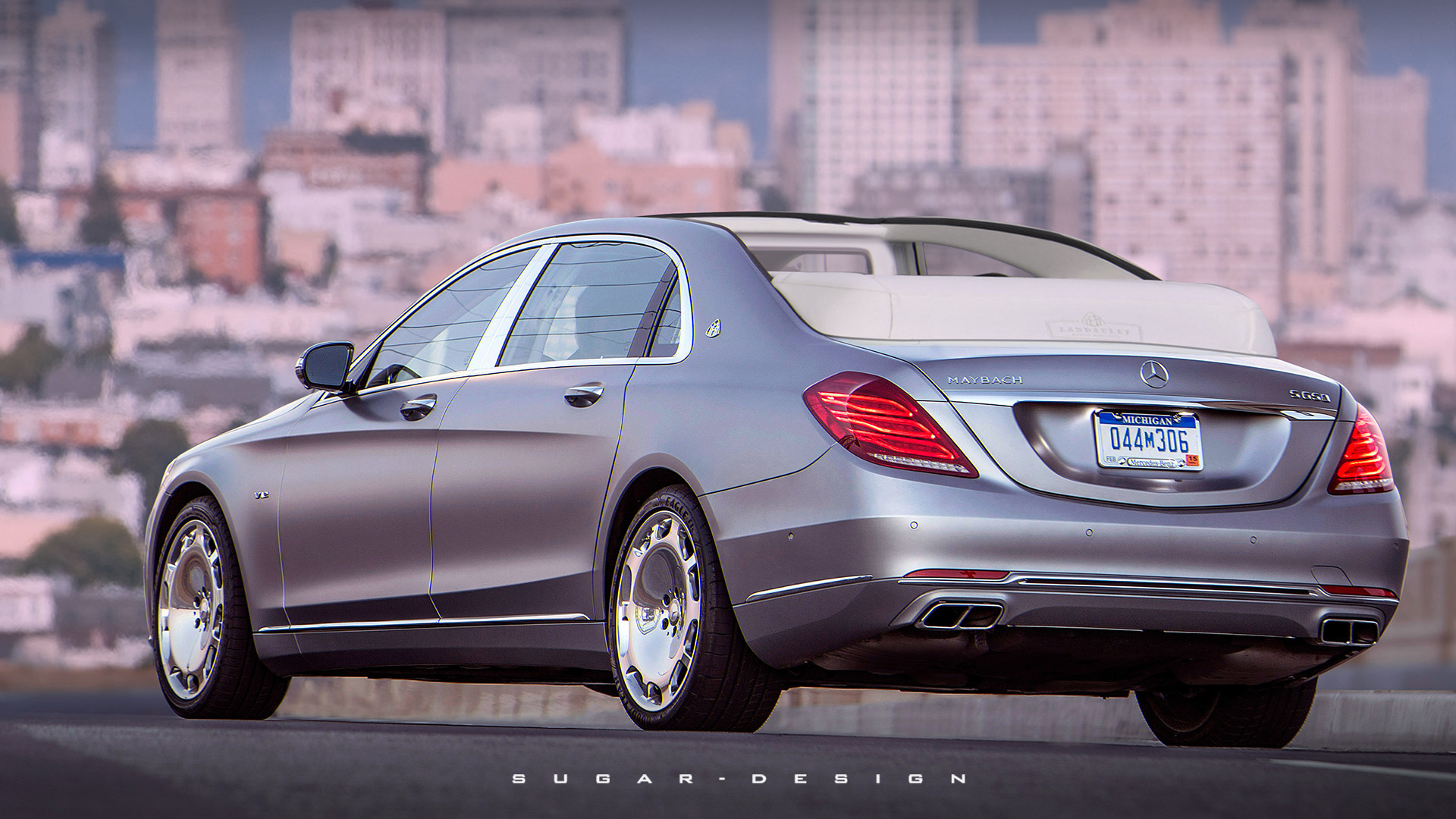 Sugar chow maybach s650 landaulet for Mercedes benz s650