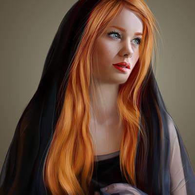 Hanaa medhat black veil1
