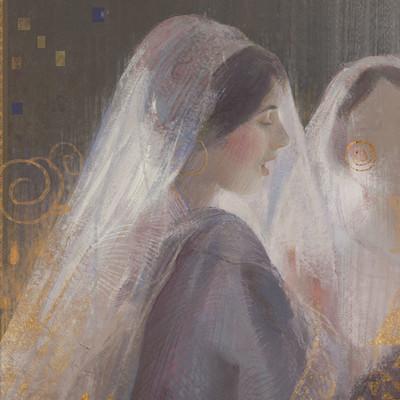 Xuanwei su constant puyo women in veils c190031231