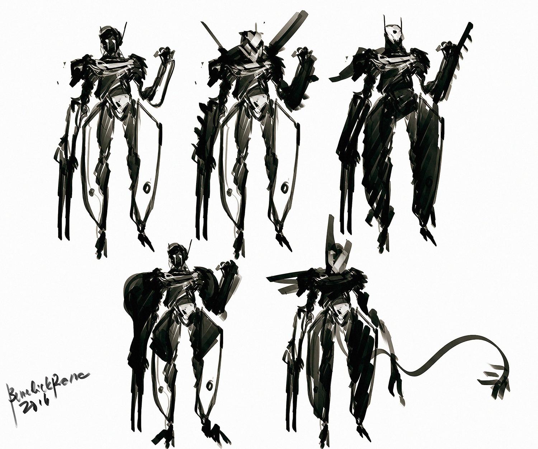 Benedick bana claw warrior design lores