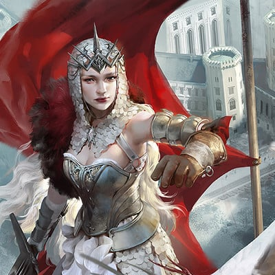 Lian oxan studio applibot white queen advw
