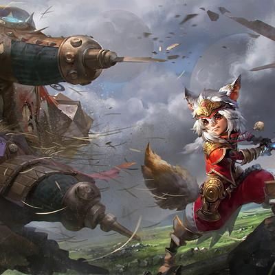 Lian oxan studio oxan duel