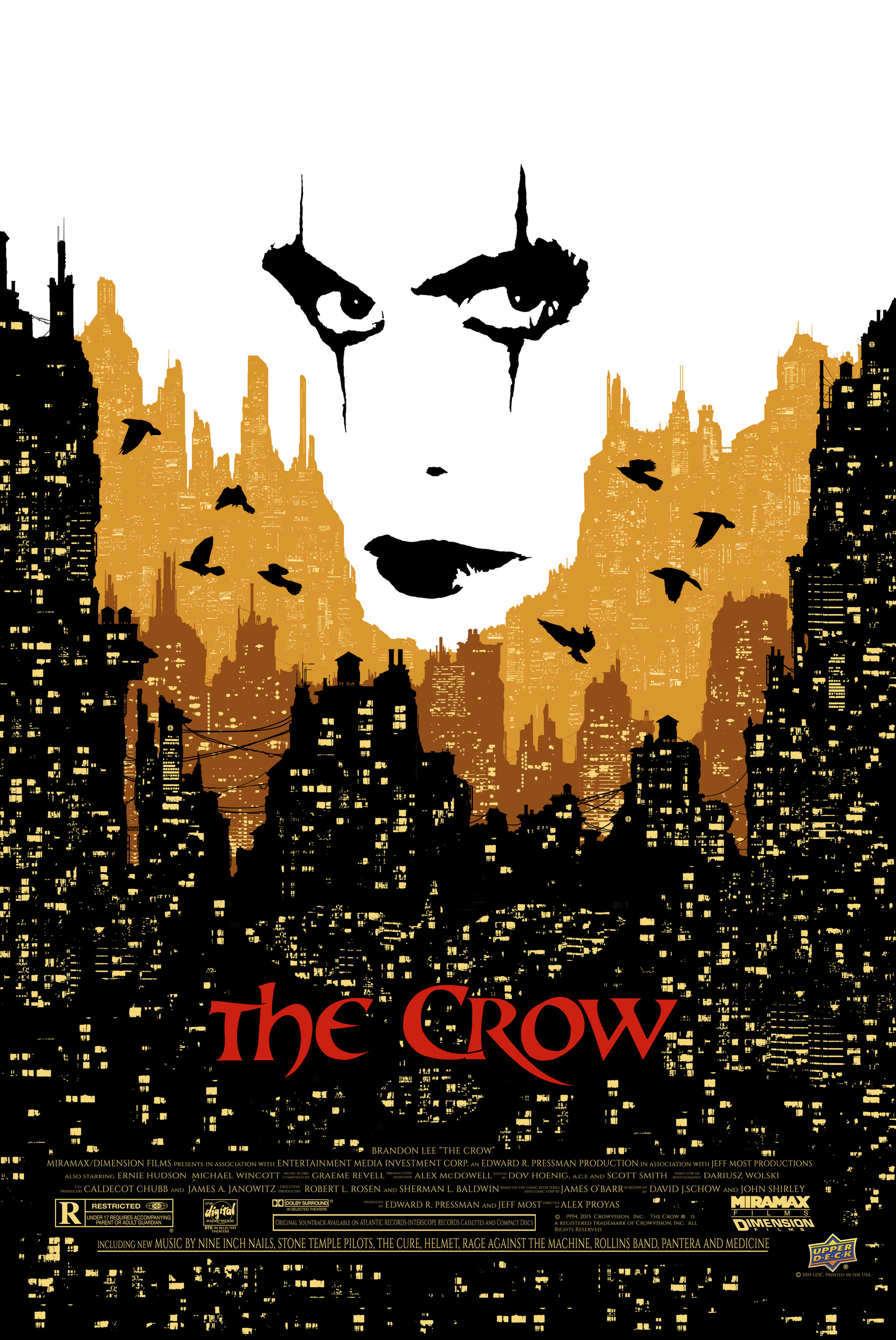 Anthony washington the crow final poster variant