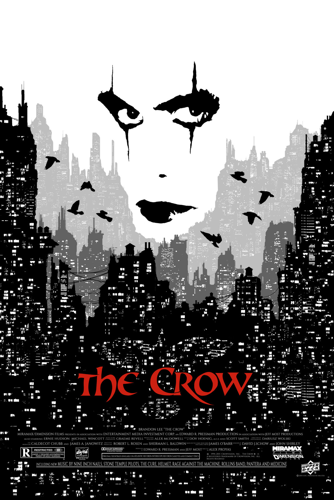 The Crow - 20th Anniversary Posters
