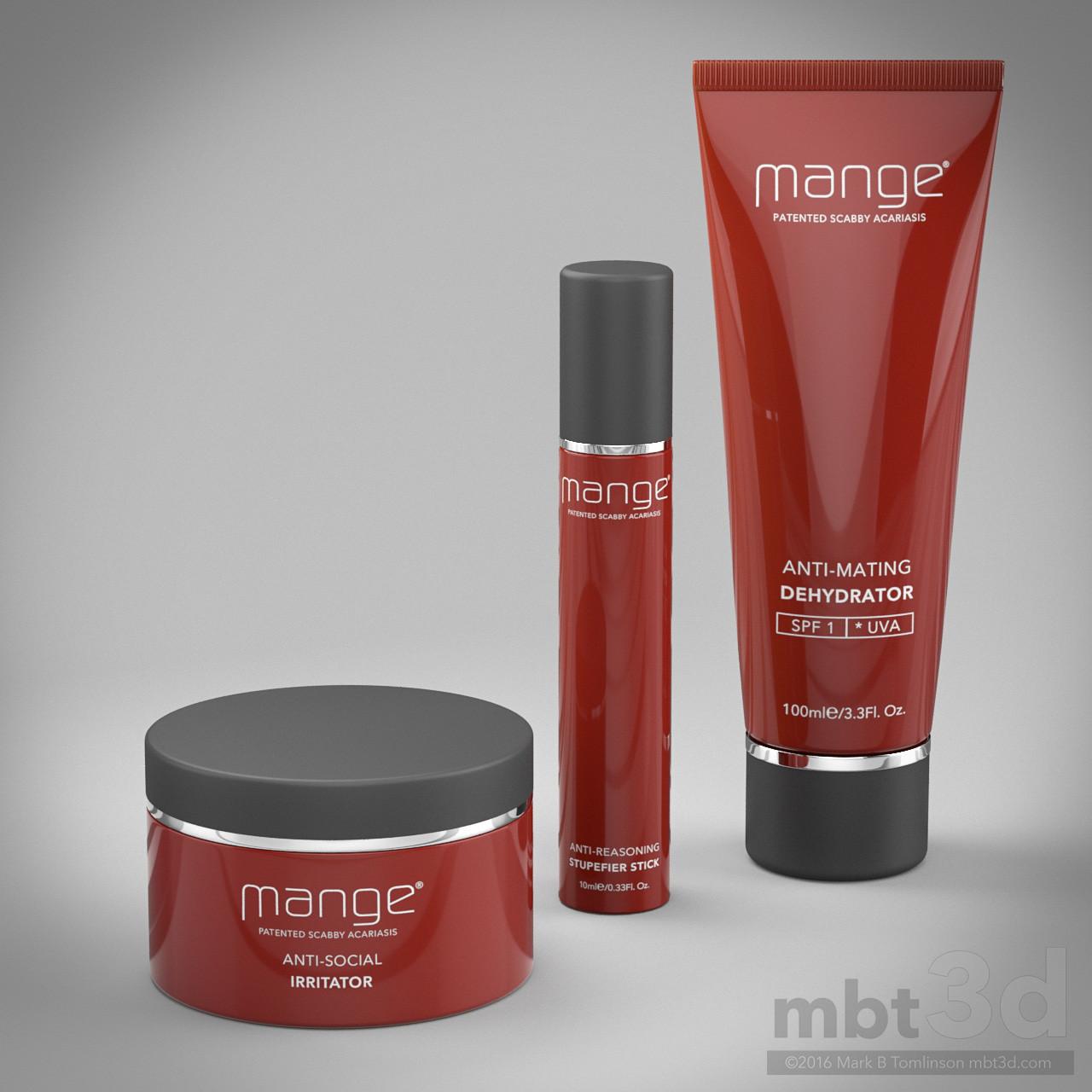 Mange Range Cosmetic