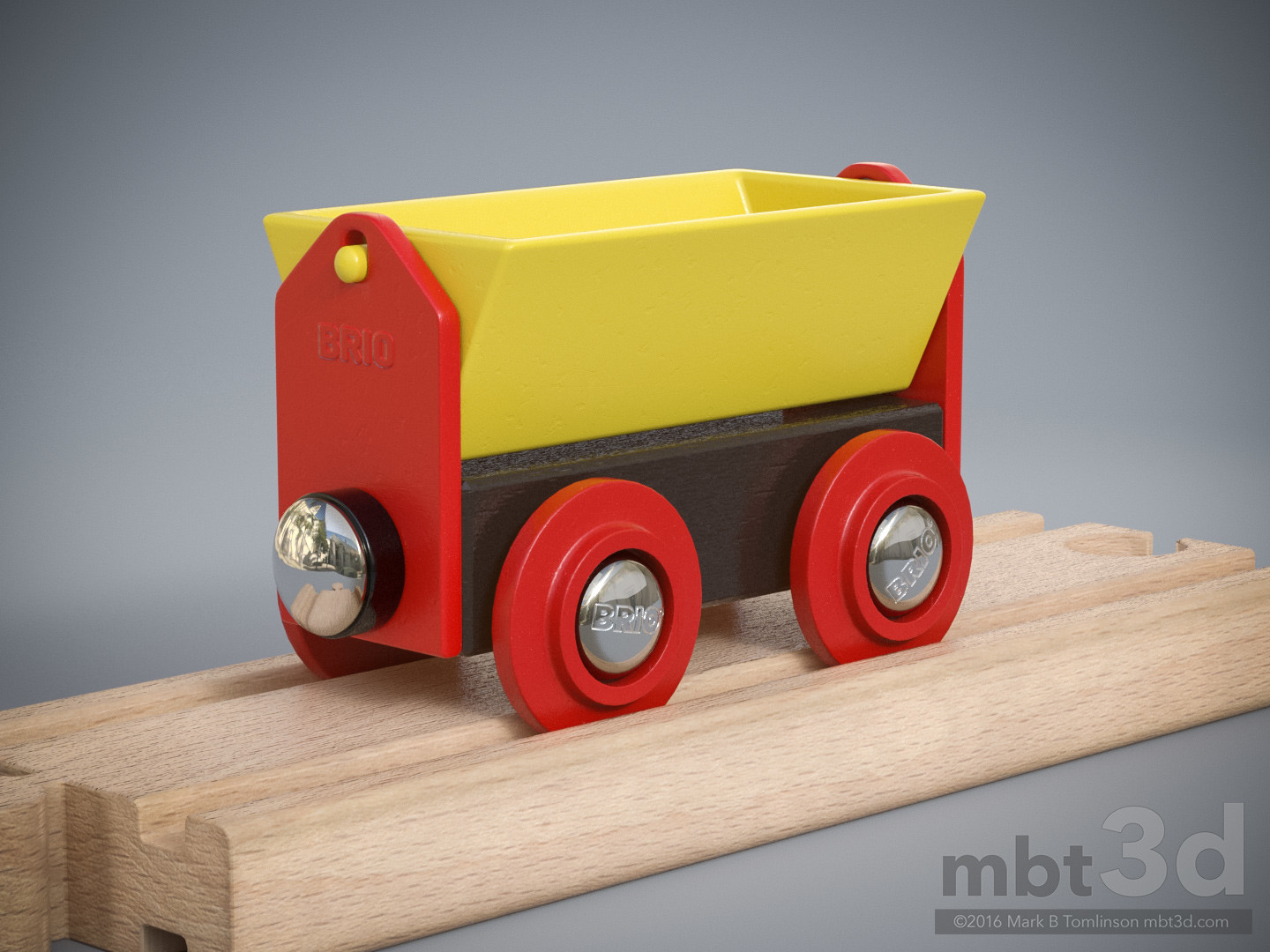 Brio Tipper Wagon Yellow