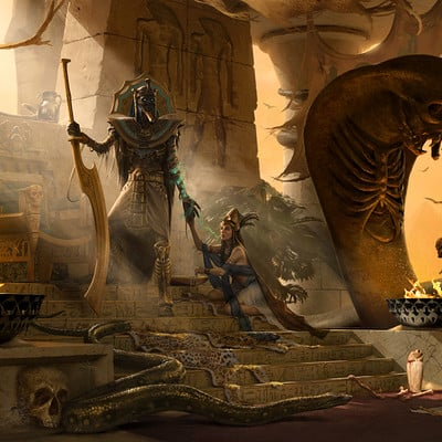 Jarrod owen the tomb king