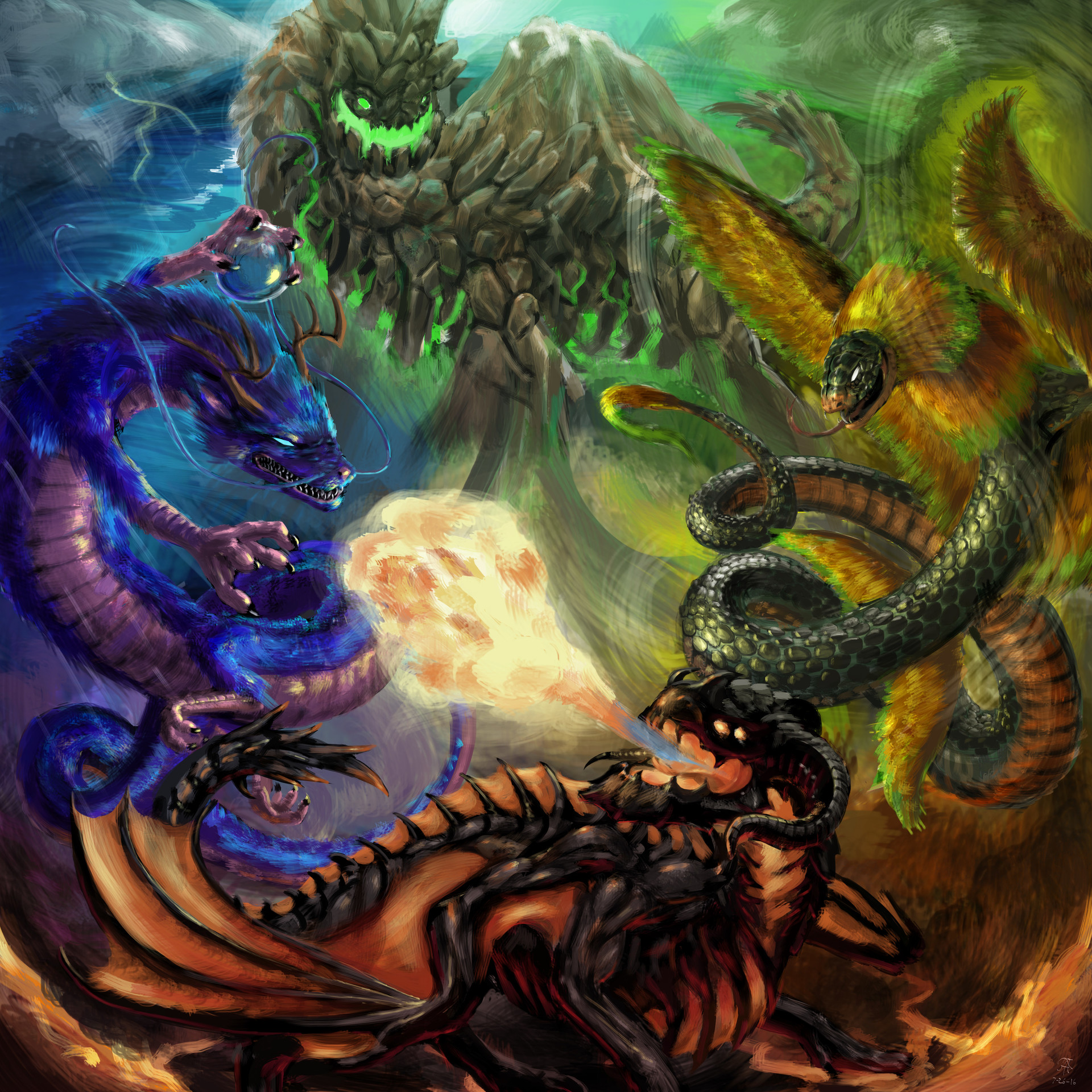 Earth Dragon: Dragons On Planet Earth, Justin Ethington