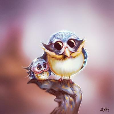 Okan bulbul owl eggy 04
