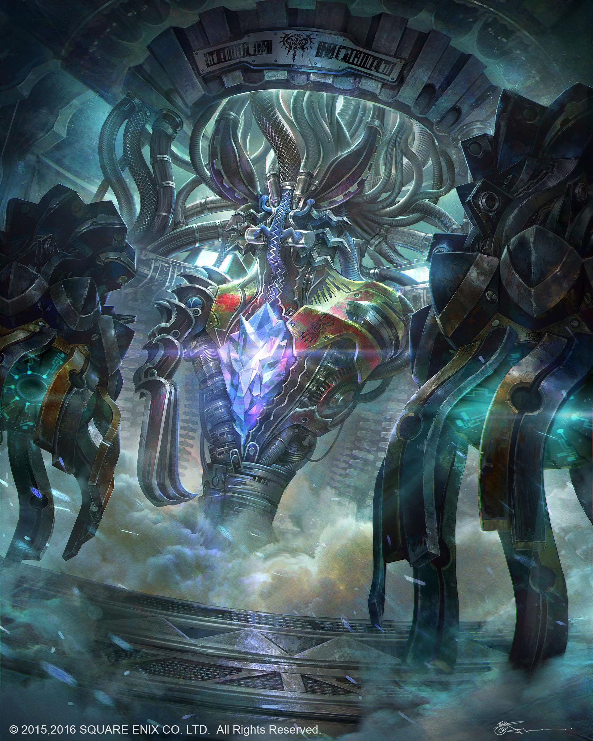 Final Fantasy 13 Art