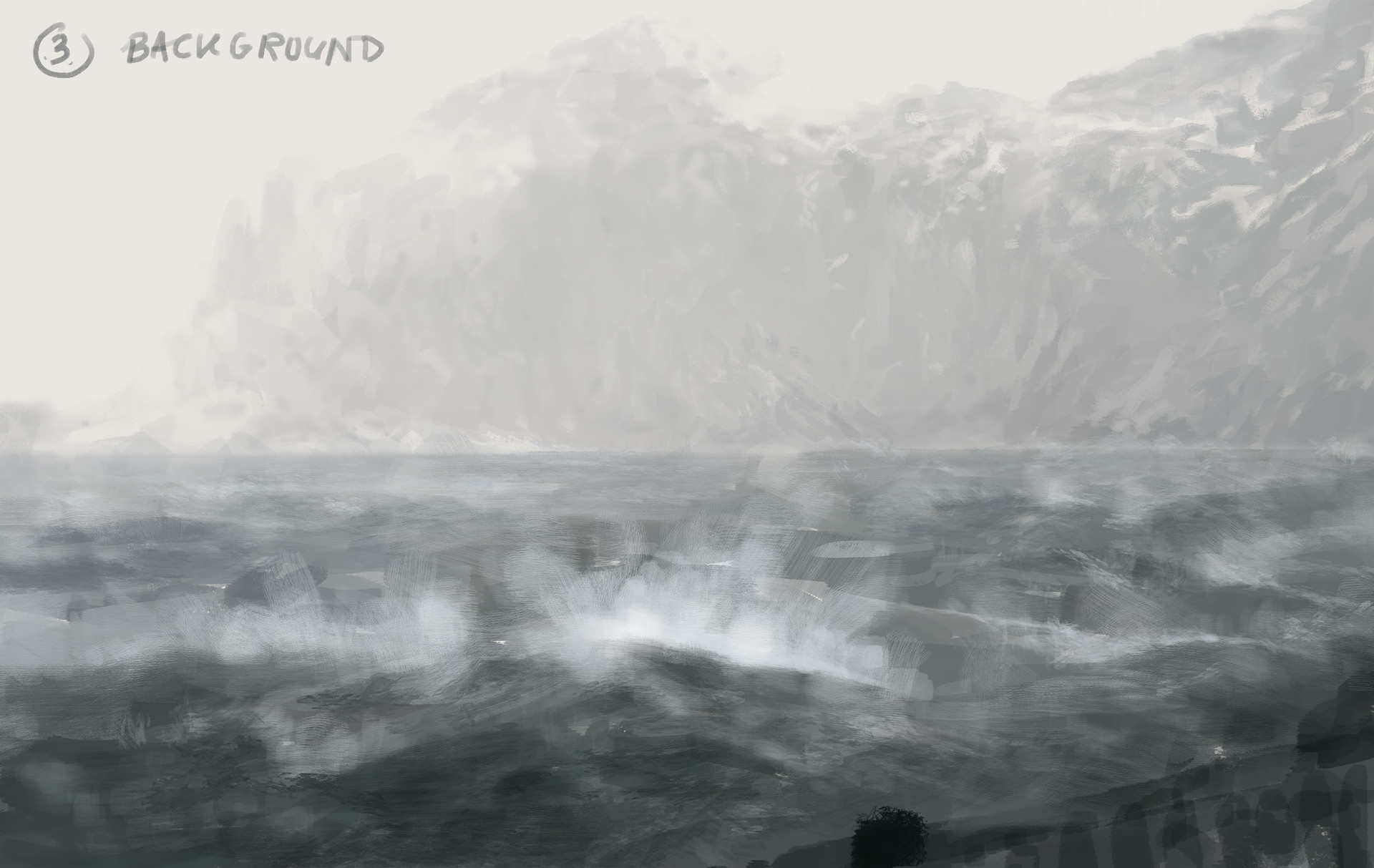 Jakub rozalski ancients 03workprocess3