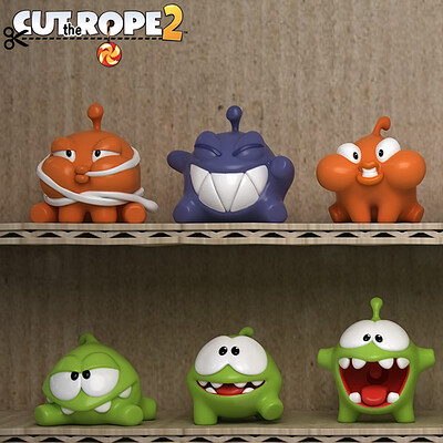 Adam sacco cut the rope 3d models by adam sacco