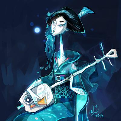 Ellie yong geisha8