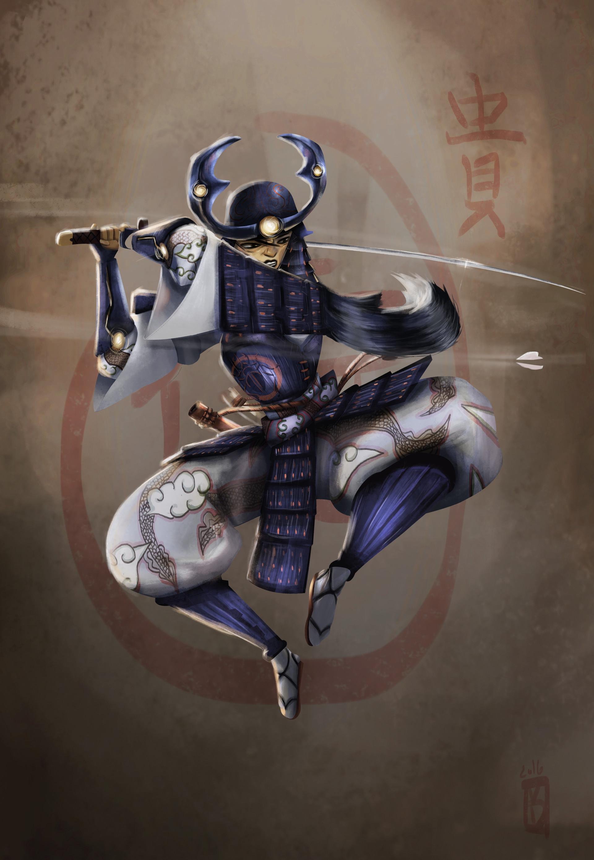 Victor debatisse samurai