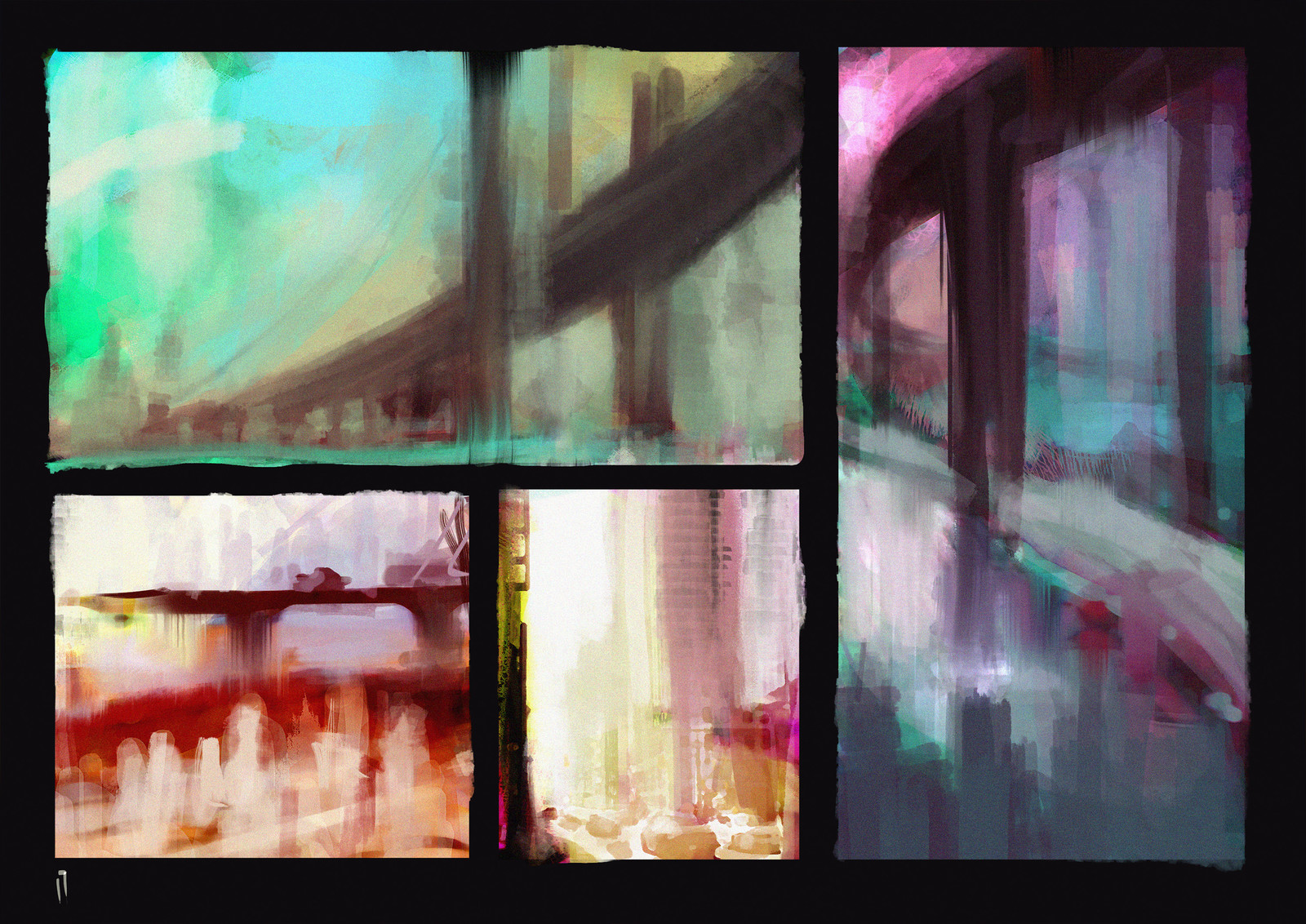 """Daily Urban"" - sketch"