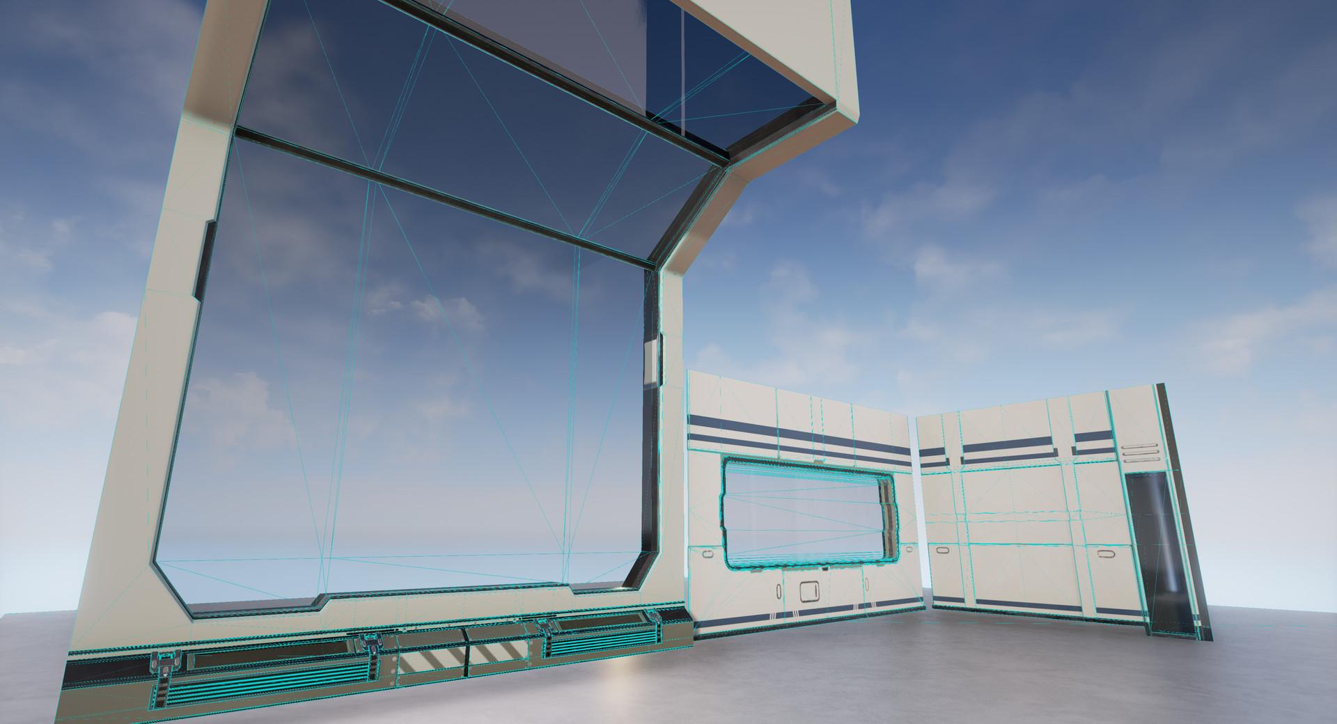 ArtStation - Sci-Fi-Modules, Lukas Kays