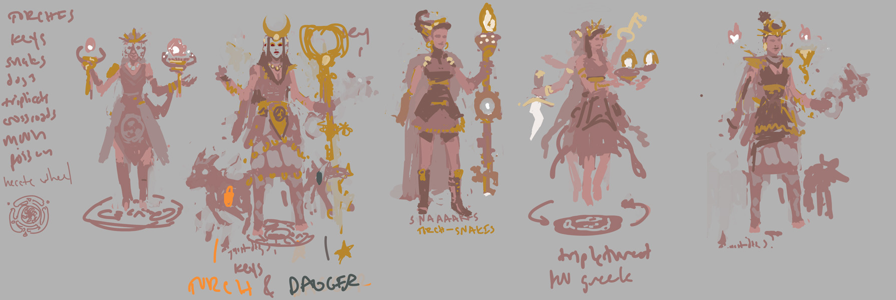 Devin platts hecate sketches wip01