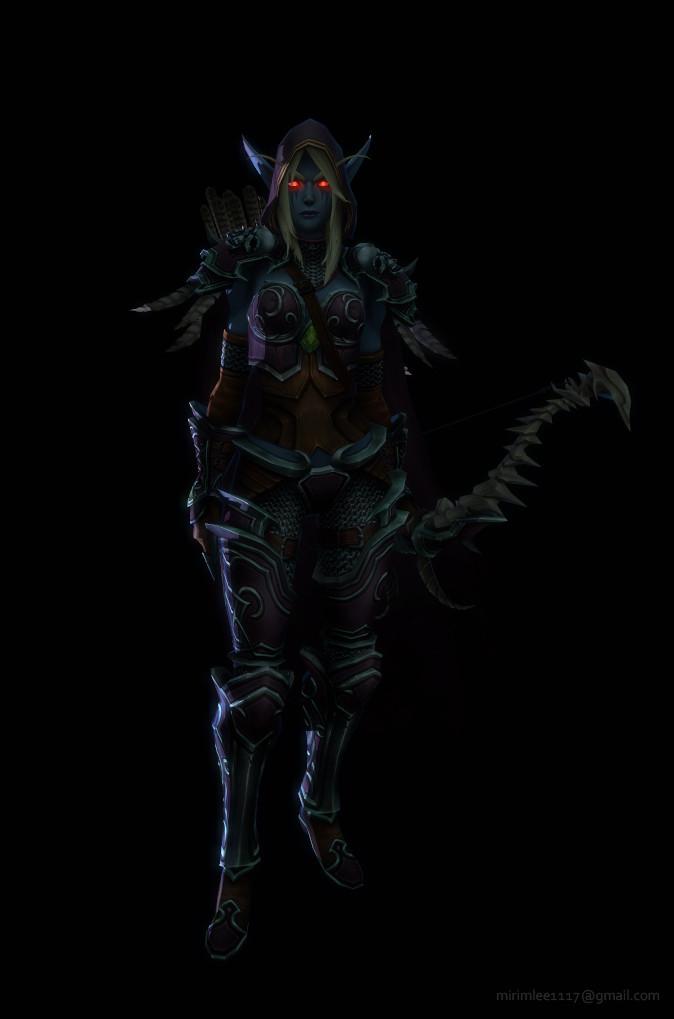 World Of Warcraft Website Design