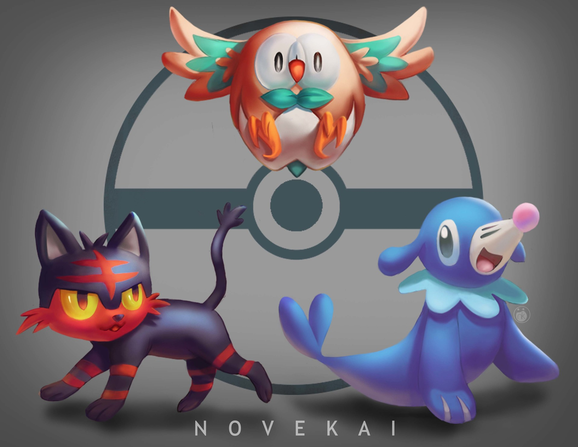 Kai ussin pokemon sun and moon starters