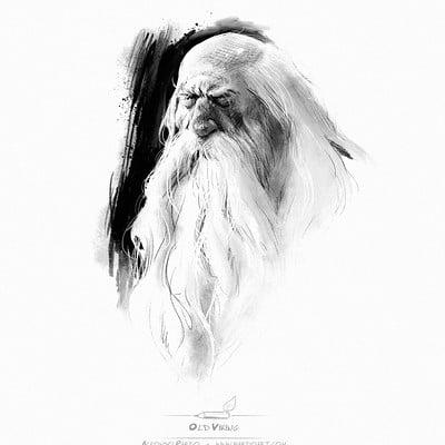 Alfonso pardo martinez boceto vikingo pardoart