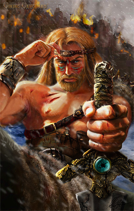 Viking King final art