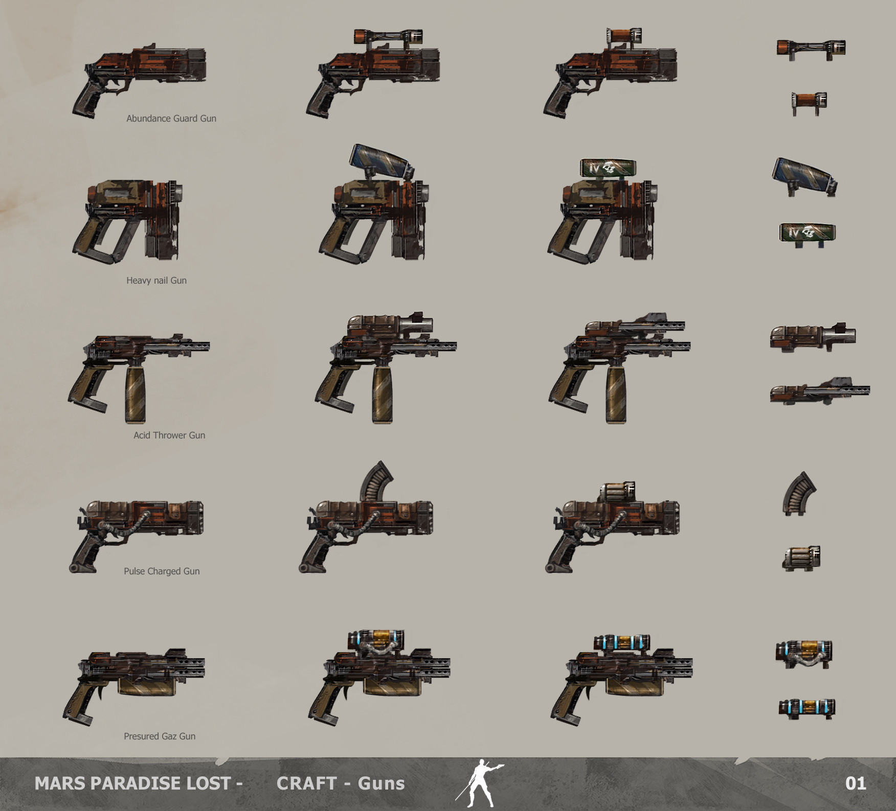 Alexandre chaudret mpl craft guns 01