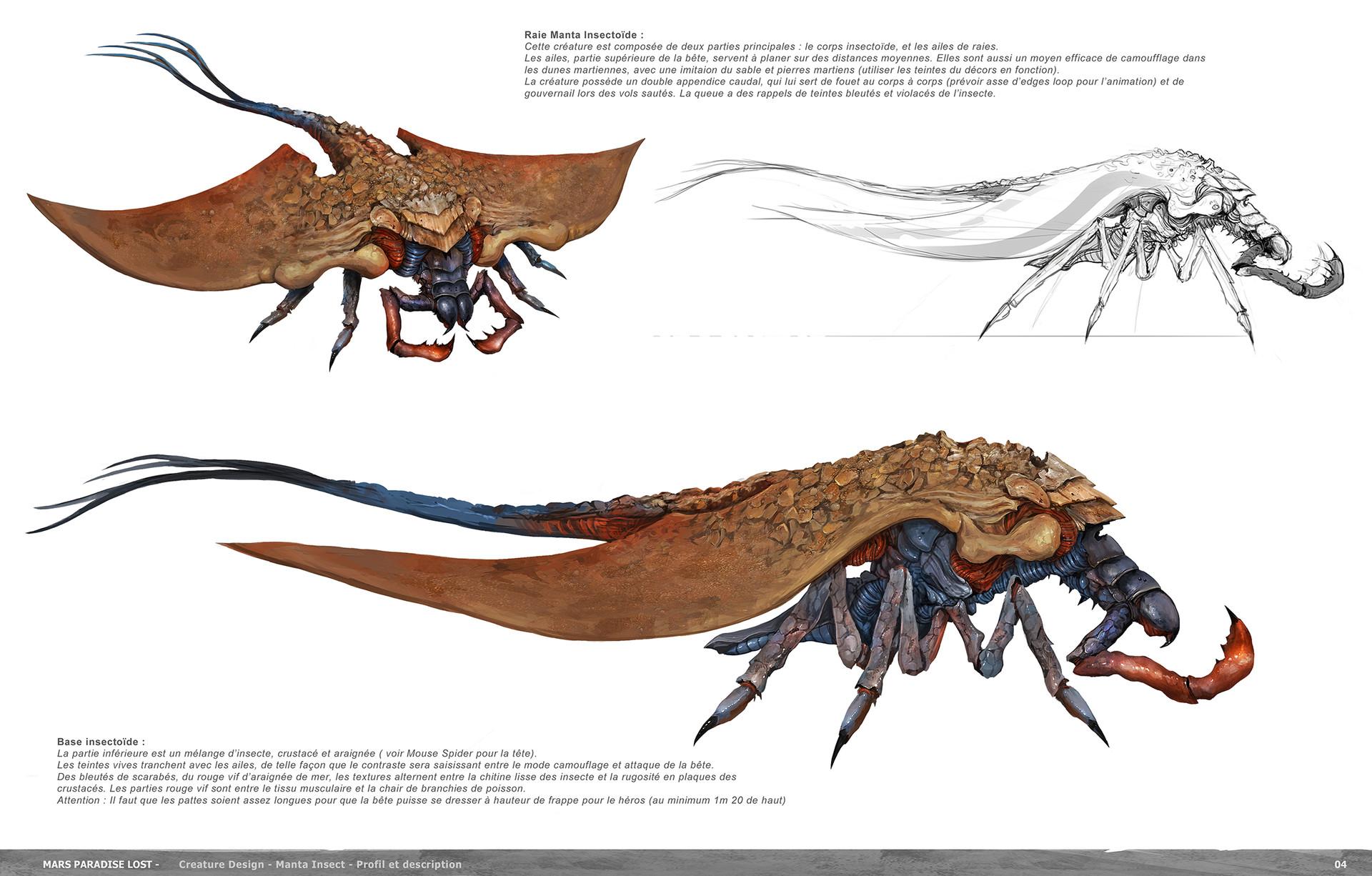 Alexandre Chaudret The Technomancer Creature And