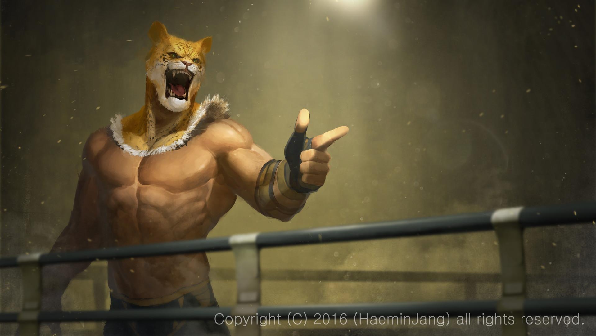 Artstation King Tekken Haemin Jang